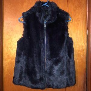 Like New J.Crew Faux Fur Vest